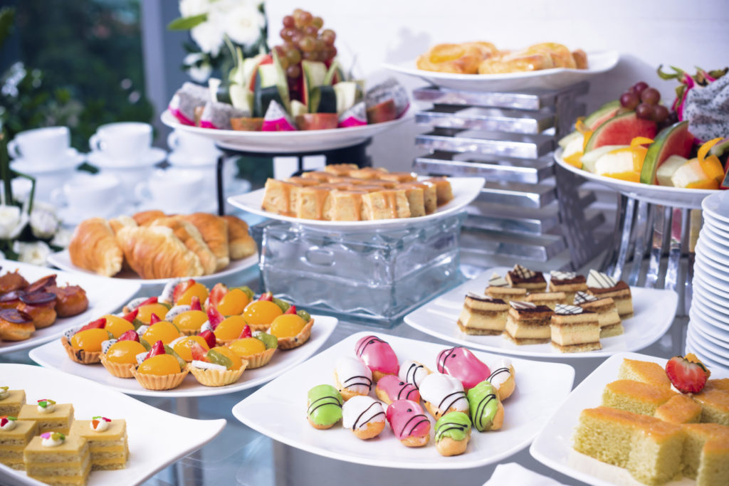 What points to be aware in the choice of a caterer
